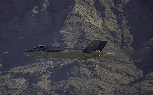 F-35A on Afterburner