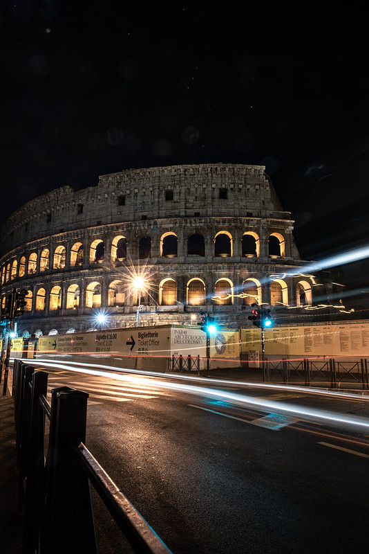 Colosseum Long Exposure