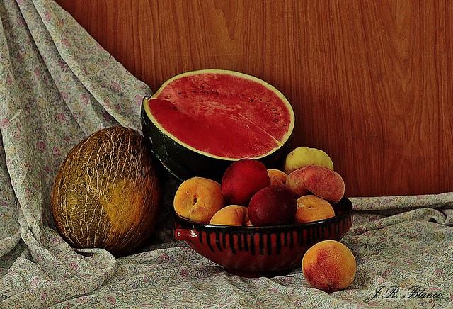 Frutas de temporada.
