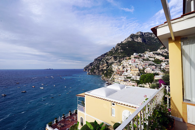 Italy 2019, Positano, Hotel Marincanto, Positano from our hotel 3