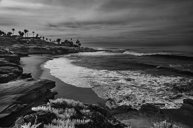 Pacific Coastline South Of La Jolla