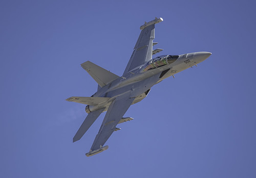 EA-18G Starting the Photo Pass