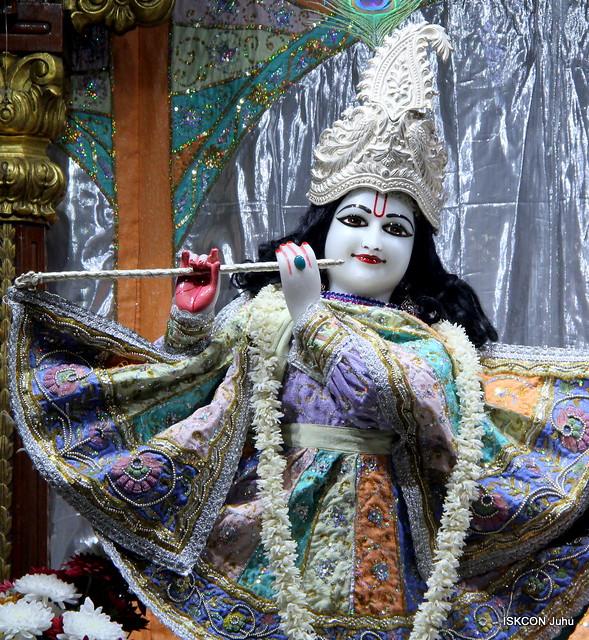 ISKCON Juhu Mangal Deity Darshan on 10th Jan 2020