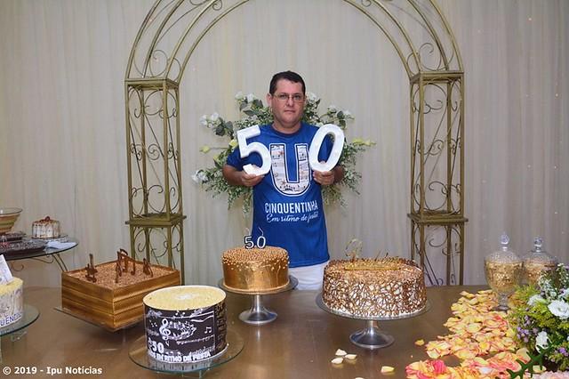 50º aniversário - Meio século de vida de Paulo Medeiros