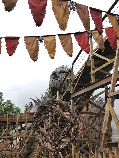 The Wicker Man wooden rollercoaster