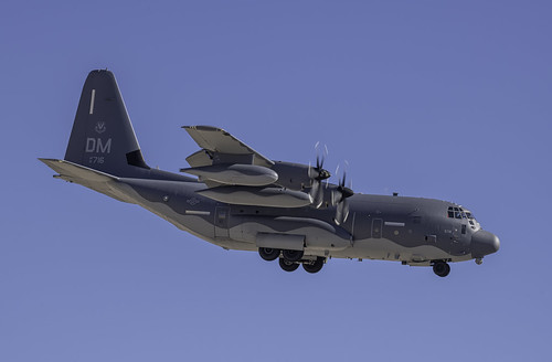 Lockheed C-130 Hercules Dirty Profile