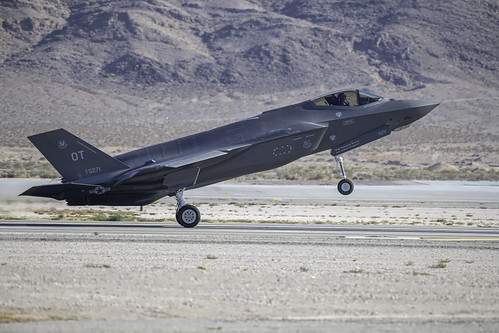 F-35A Just Landed