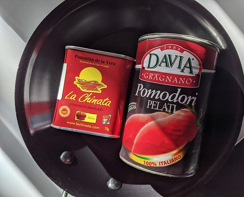 Sweet paprika and canned tomatoes | by DarleneEats