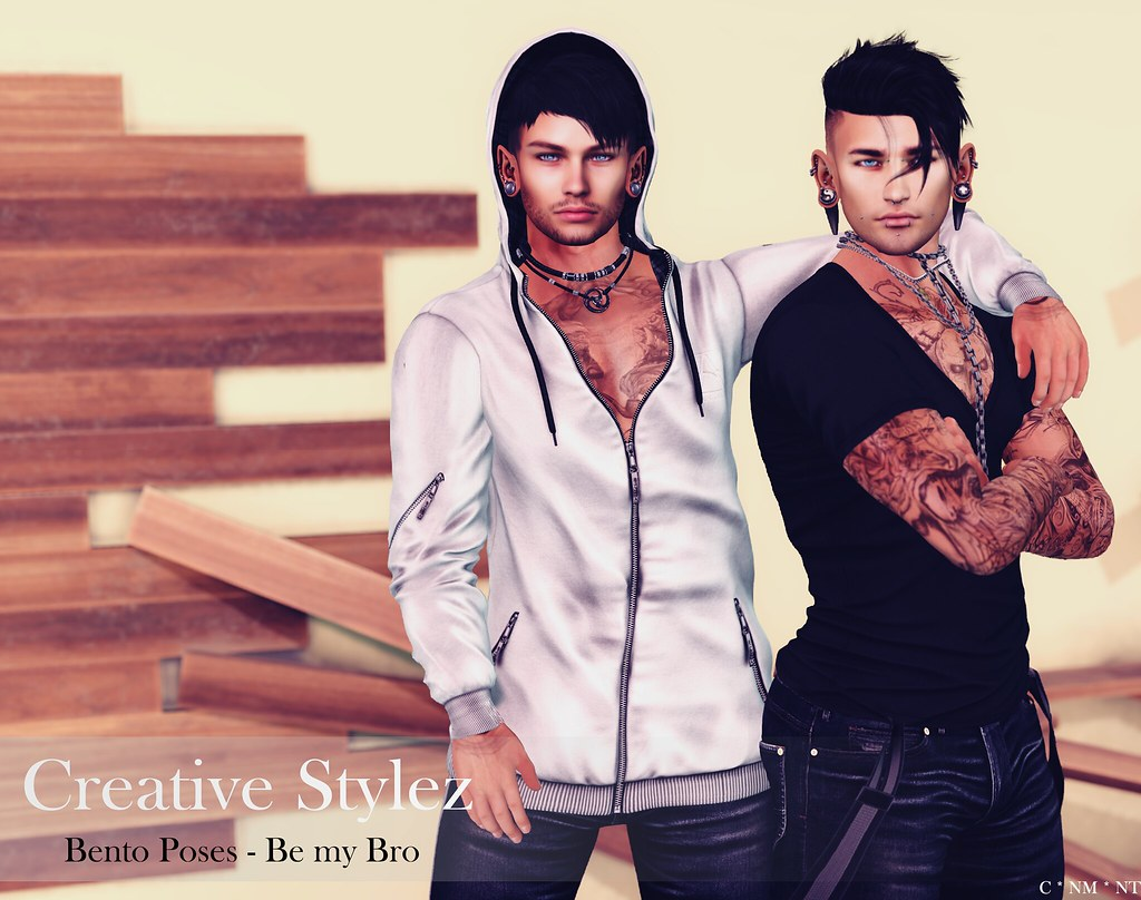 Creative Stylez – Bento Poses – Be my Bro –