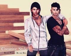 Creative Stylez - Bento Poses - Be my Bro -