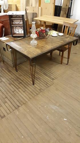 Industrial skid table. Jan 2020