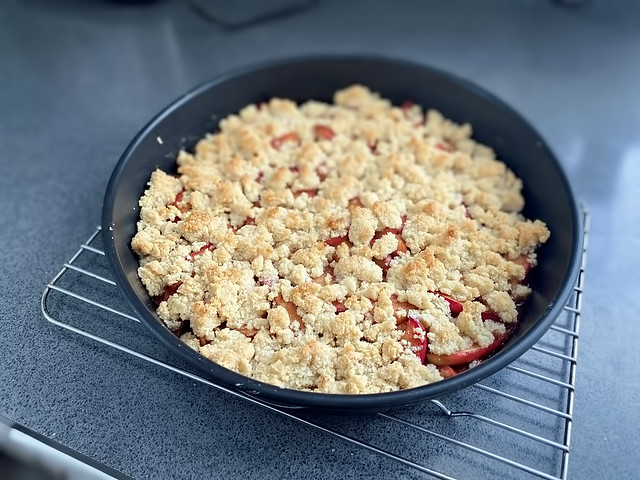 Almond Apple Crisp!