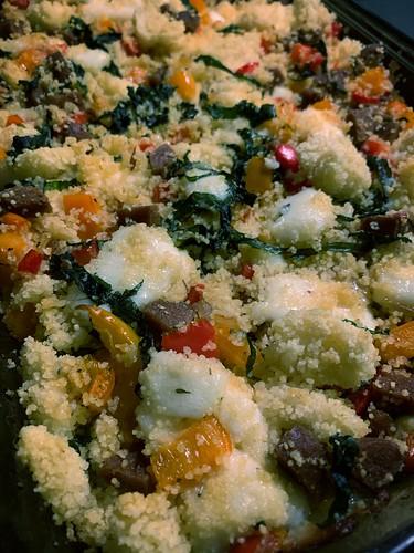 Improvised Dinner: Couscous Casserole