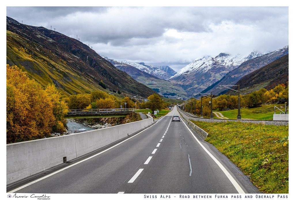 Swiss Alps - Road between Furka pass and Oberalp pass - NZ6_3315