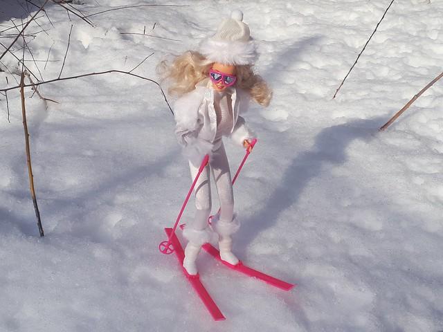 Winter Fun Barbie #5949 from 1990