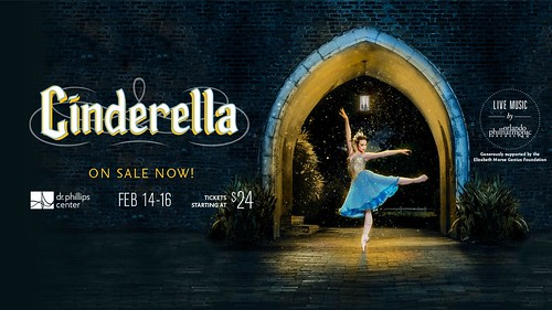 Dancer: Kate-Lynn Robichaux (USA) Photography by Michael Cairns 2019. CINDERELLA by the Orlando Ballet