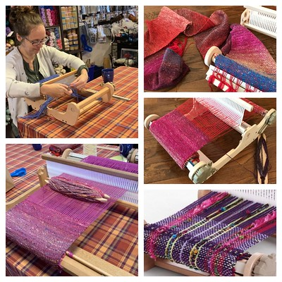 Interested in trying your hand at weaving? In this introductory 1 day workshop, you will weave your own scarf!! Register today for our Sunday, January 19th workshop!!