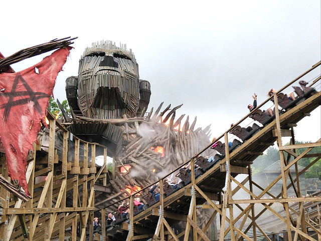 The Wicker Man rollercoaster