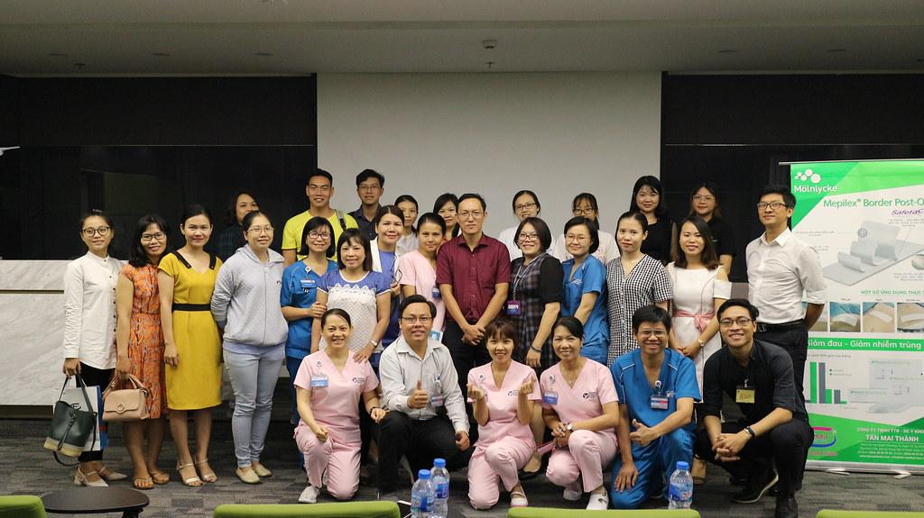 Hội thảo chuyên đề chăm sóc vết thương tại BV AIH