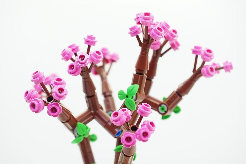 LEGO Peach Flower Pot