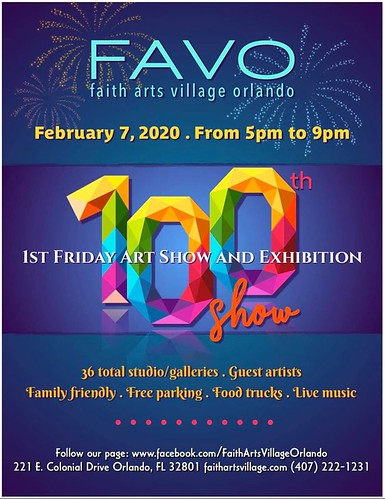 FAVO's 100th Art Show !!!!!
