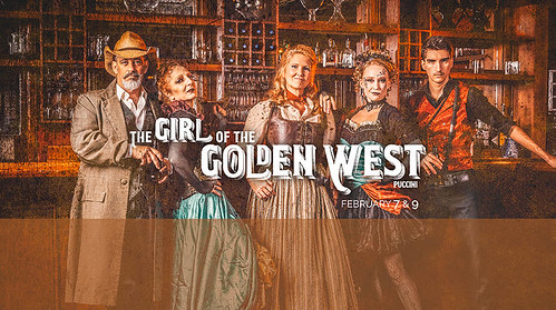 GIRL of the GOLDEN WEST with Opera/Orlando