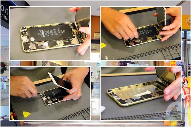台中iPhone維修-拆機流程