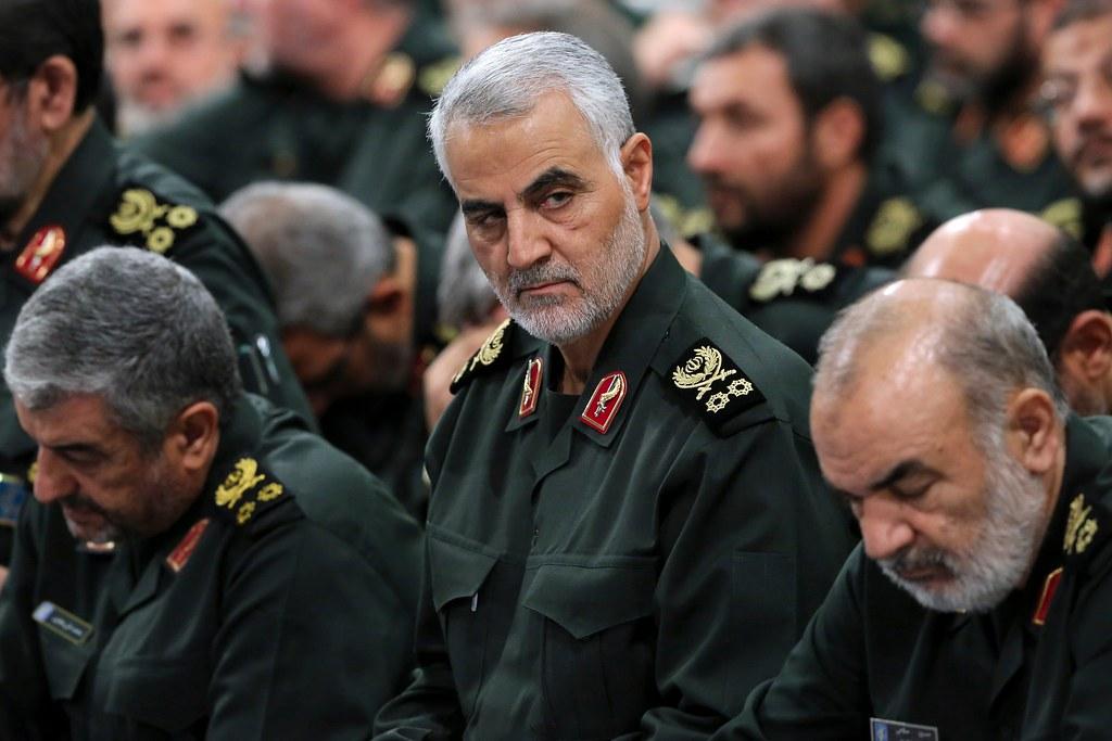 伊朗伊斯蘭革命衛隊指揮官蘇萊曼尼遭美國以無人機暗殺。(圖片來源:伊朗辦公室)