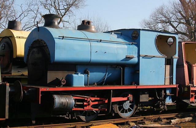 110129 Stamford (Avonside 1972) Rutland Railway Museum 17.02.2008