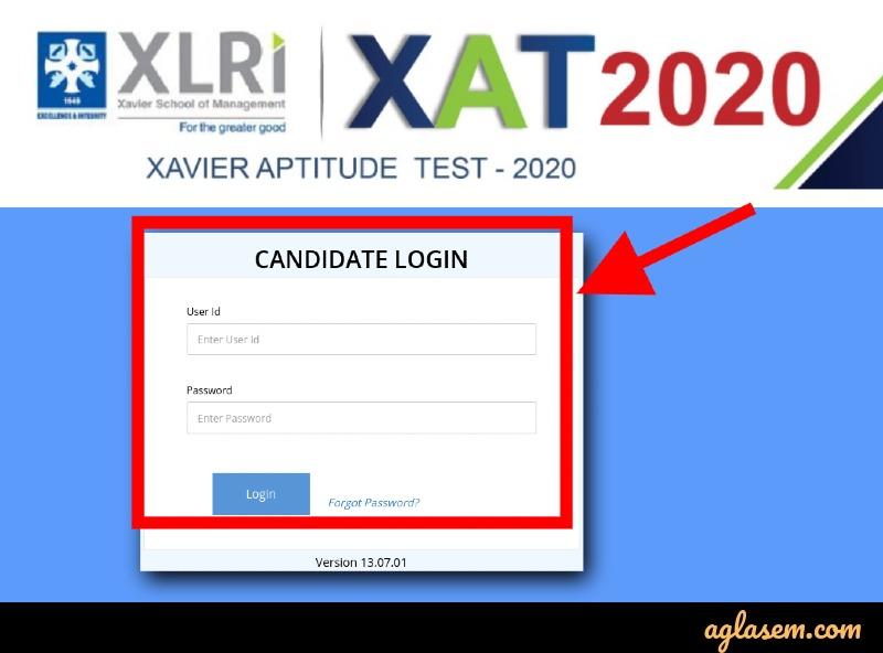 XAT 2020 result login