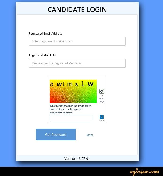 Get password for XAT 2020 login