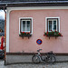 Old buildings in Hallstatt, Austria