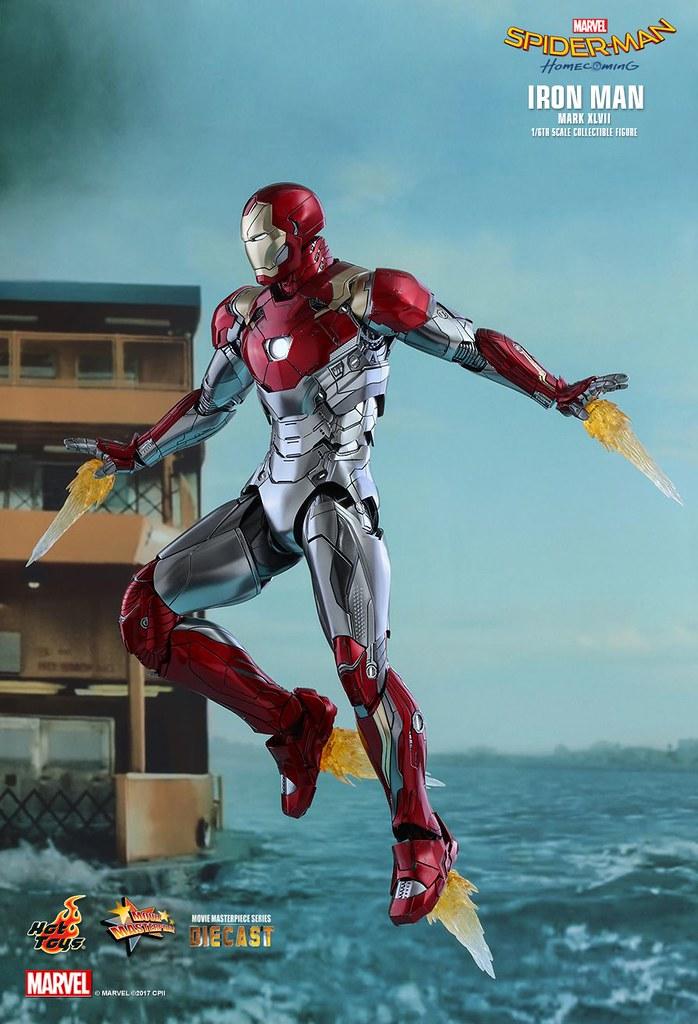 Hot Toys - MMS427D19 -《蜘蛛人:返校日》鋼鐵人 馬克47 1/6比例 合金珍藏人偶(IRON MAN  Mark XLVII Collectible)
