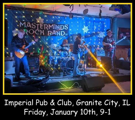Masterminds Rock Band 1-10-20
