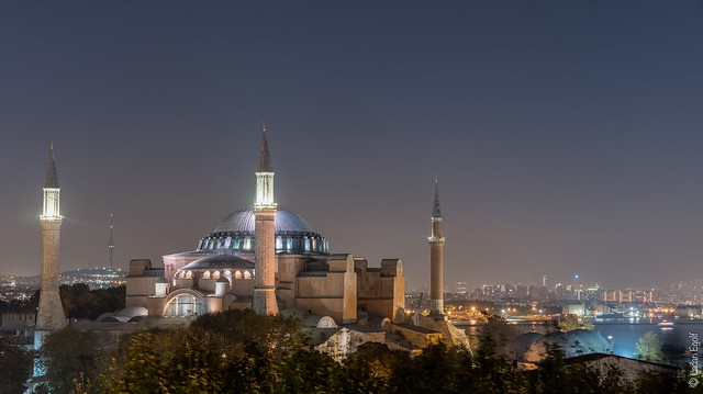 Istanbul / Hagia Sophia by night