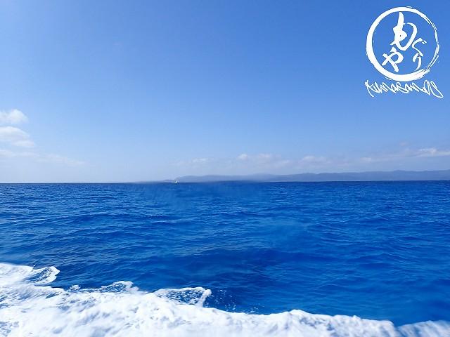 青い海にキャッキャ言いながら向かうは黒島♪♪