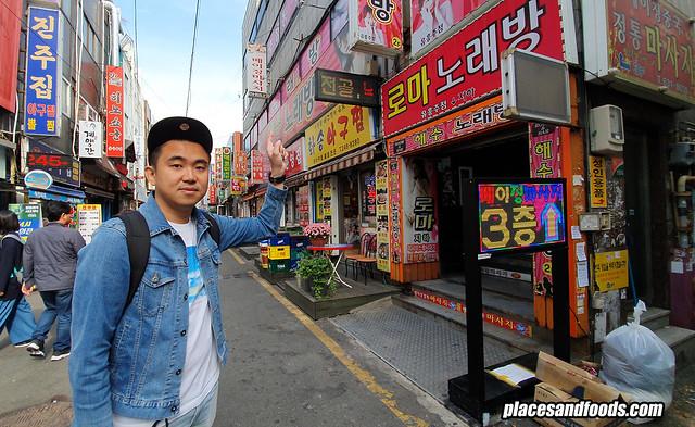 busan biff street shopping
