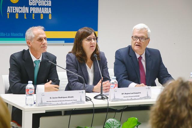 Presentación del nuevo gerente de la Gerencia de Atención Primaria de Toledo