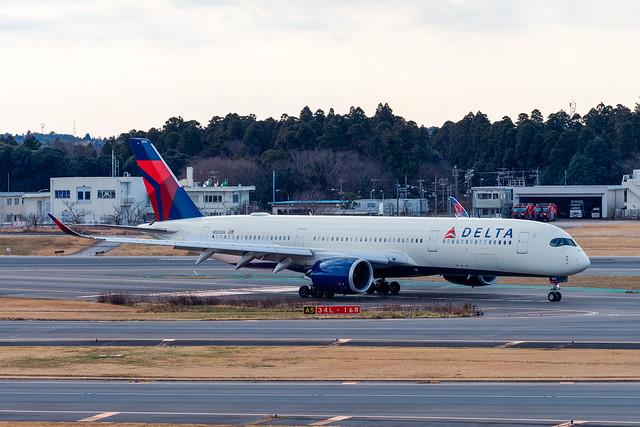 Delta Air Lines Airbus A350-900 N512DN