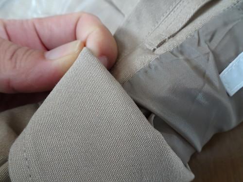 ニッセン カバン要らずテーラードジャケット ベージュ/サイズ/メンズ L ポケットたくさん収納多い