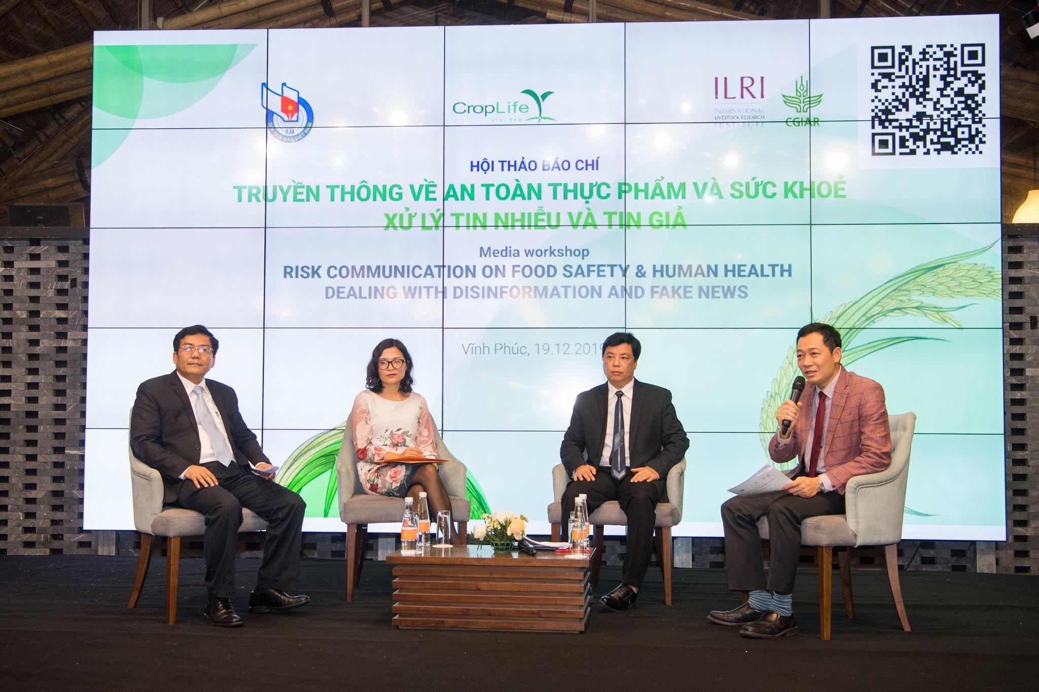 Media workshop in Vinh Phuc Province, Vietnam on 19 December 2019