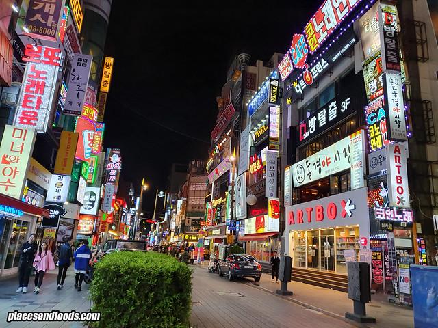 busan Seomyeon Street shops