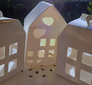Little white houses!
