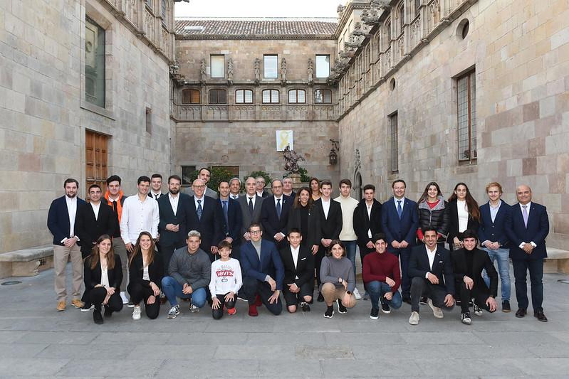Recepció del president de la Generalitat de Catalunya a la FCM