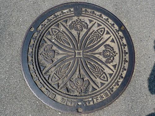 Meiwa Mie, manhole cover (三重県明和町のマンホール)
