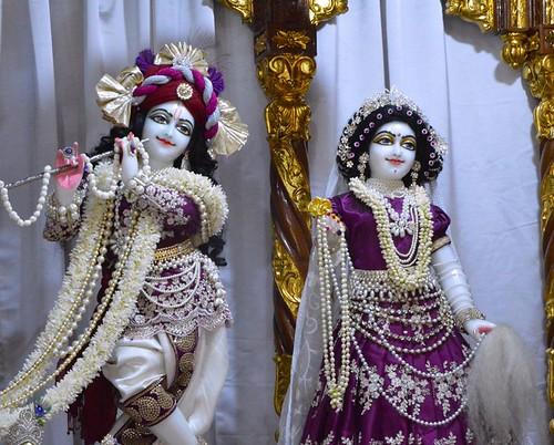ISKCON Bangalore Deity Darshan 10 Jan 2020