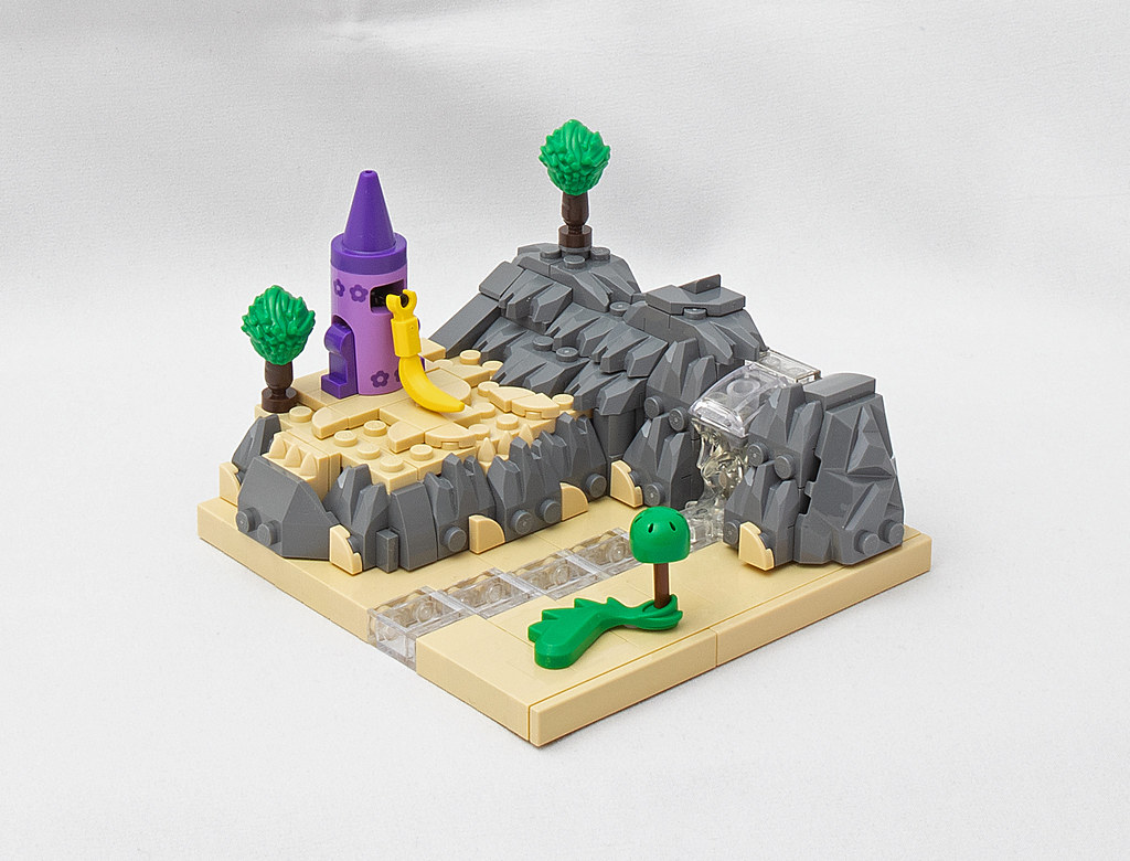 LEGO® MOC by vitreolum: Rapunzel's Tower Micro