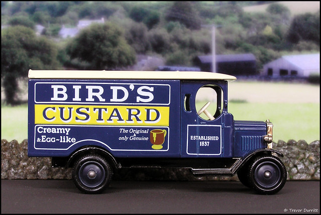 Lledo Days Gone No. 43007 Morris Light Truck in Bird's Custard Livery P5100013