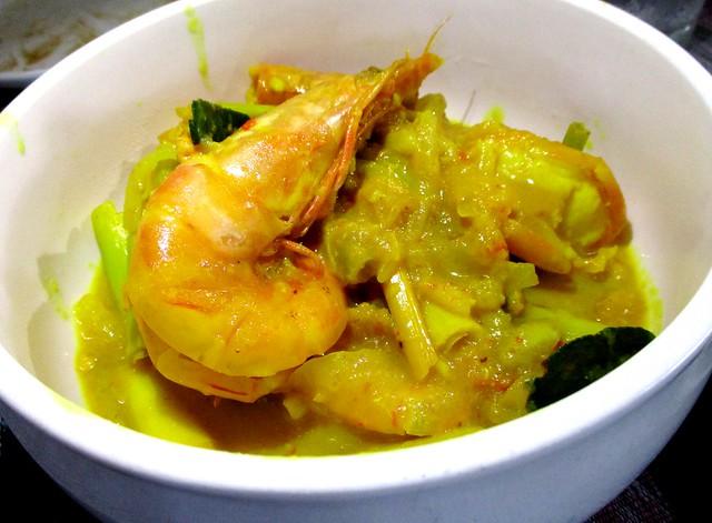 Payung Cafe belimbing prawns