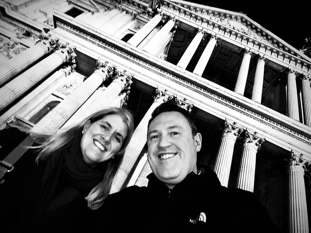 Mark and Gemma at St Paul's